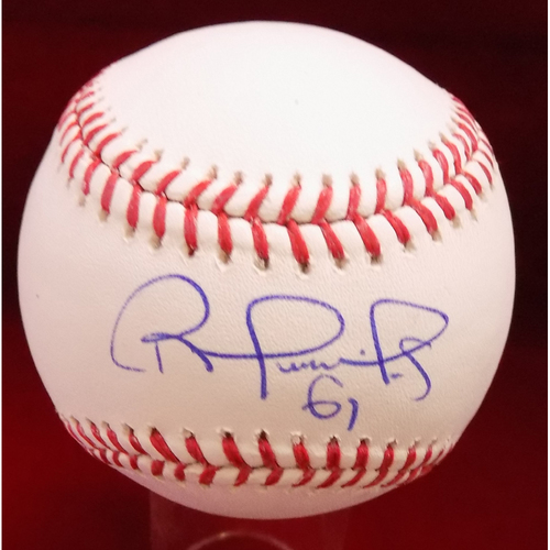 Photo of Robinson Chirinos Autographed Baseball