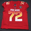 California Fire Relief- Raiders Donald Penn 2018 game issued AFC Pro Bowl jersey - size 50