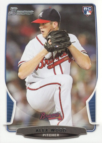 Photo of 2013 Bowman Draft #39 Alex Wood RC