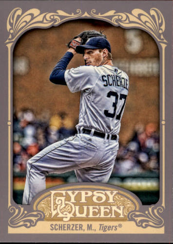 Photo of 2012 Topps Gypsy Queen #9 Max Scherzer