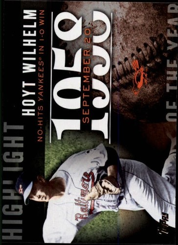 Photo of 2015 Topps Highlight of the Year #H70 Hoyt Wilhelm UPD