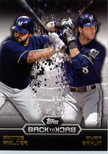 Photo of 2016 Topps Back to Back #B2B1 Ryan Braun/Prince Fielder