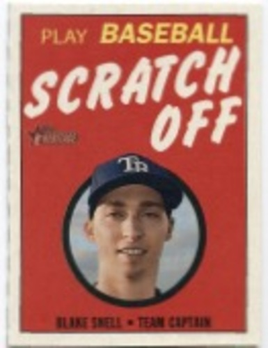 Photo of 2019 Topps Heritage '70 Topps Scratch Offs #22 Blake Snell
