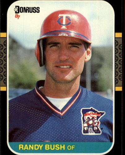 Photo of 1987 Donruss #441 Randy Bush