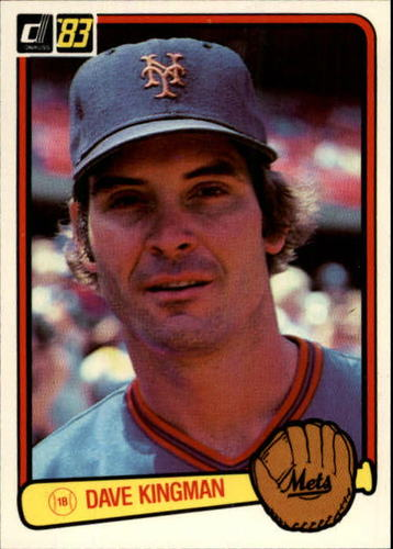 Photo of 1983 Donruss #301 Dave Kingman