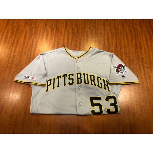 Photo of Melky Cabrera - Game Used Jersey - 1,900th Major League Hit