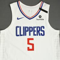 Montrezl Harrell - Los Angeles Clippers - Game-Worn Association Edition Jersey - 2019-20 NBA Season