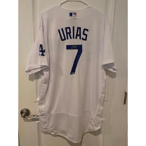 Julio Urias Authentic Autographed Los Angeles Dodgers Jersey