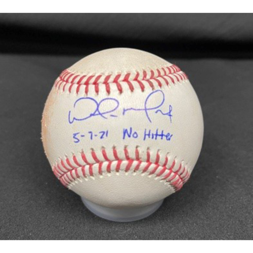 Photo of Wade Miley No-Hitter - *Autographed Game-Used Baseball* - Top 2 - Zach Plesac to Eugenio Suarez (Pop Out); Tyler Naquin (Single)