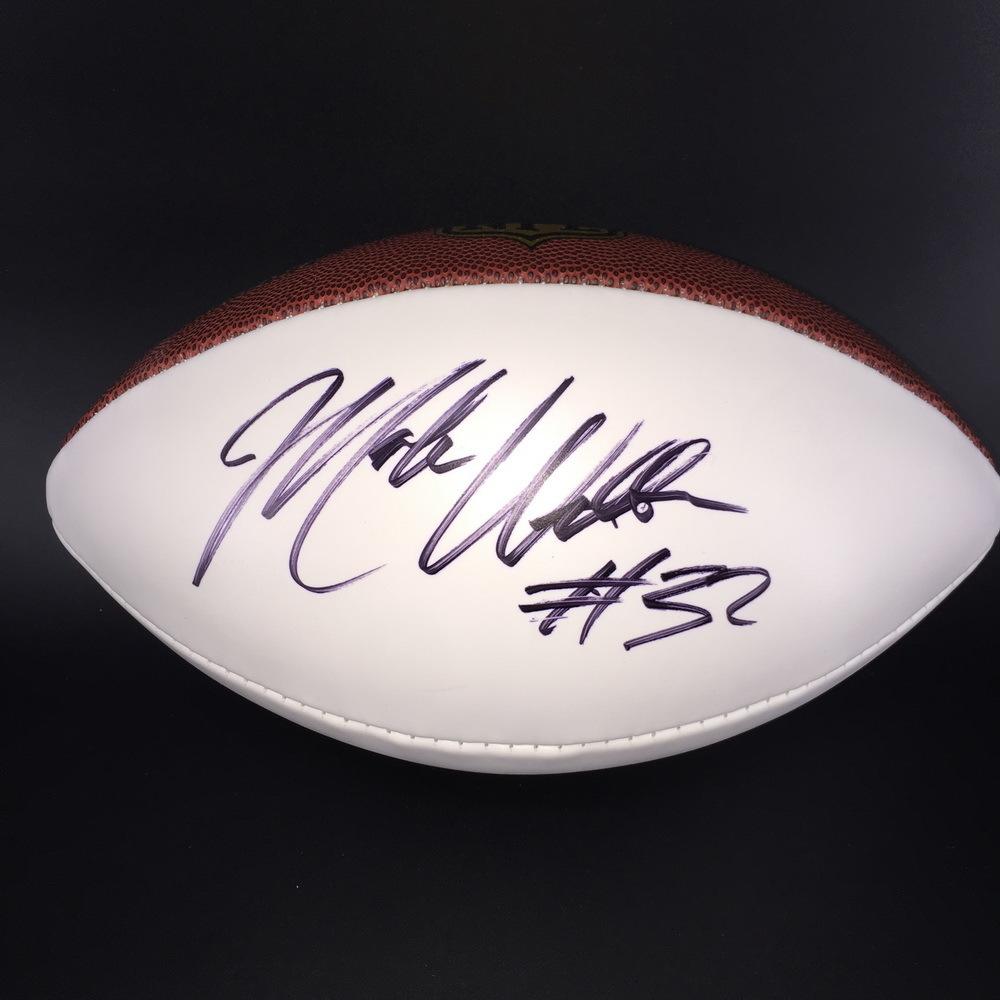 NFL - Bengals Mark Walton Signed Panel Ball