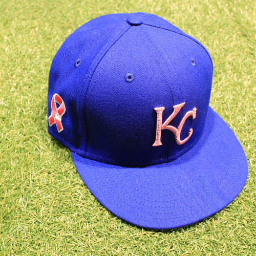 Photo of Game-Used 2021 Mother's Day Hat: Carlos Santana #41 - Size 7 1/8