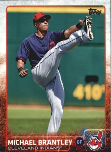 Photo of 2015 Topps #599B Michael Brantley/Leg up