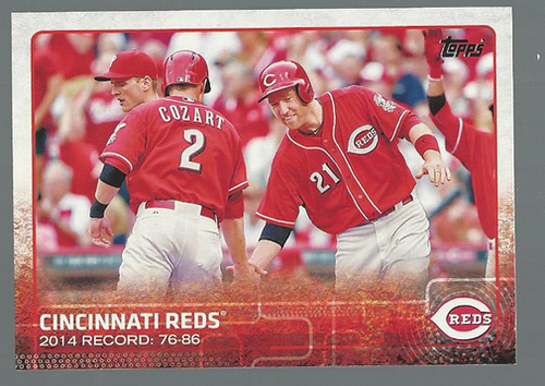 Photo of 2015 Topps #277 Cincinnati Reds