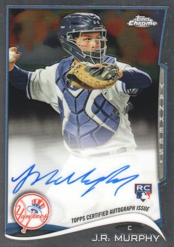 Photo of 2014 Topps Chrome Rookie Autographs #69 J.R. Murphy