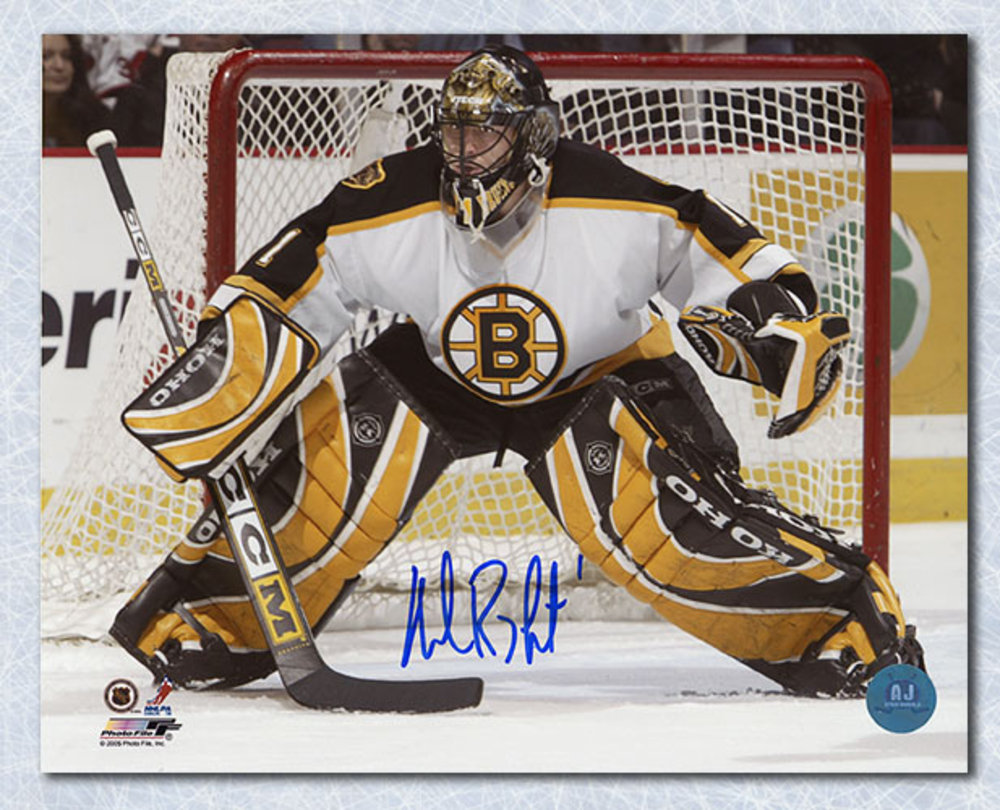 Andrew Raycroft Boston Bruins Autographed Rookie 16x20 Photo
