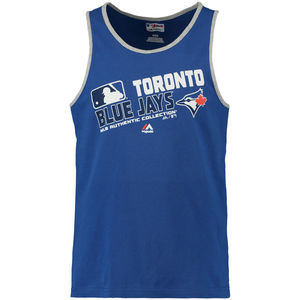 Toronto Blue Jays Big & Tall Authentic Collection Team Choice Tank by Majestic