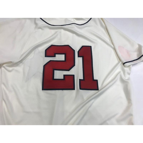 Photo of Game-Used Detroit Stars Jersey: JaCoby Jones
