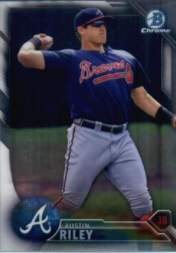 Photo of 2016 Bowman Chrome Prospects #BCP202 Austin Riley