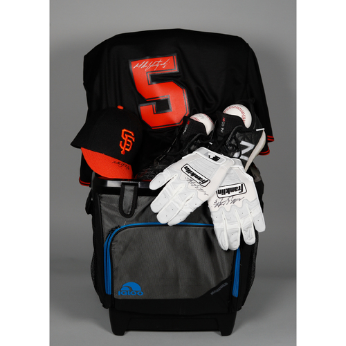 "Photo of Giants Wives Auction: Mike Yastrzemski ""Favorite Things"" Basket"