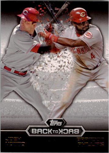 Photo of 2016 Topps Back to Back #B2B5 Brandon Phillips/Joey Votto