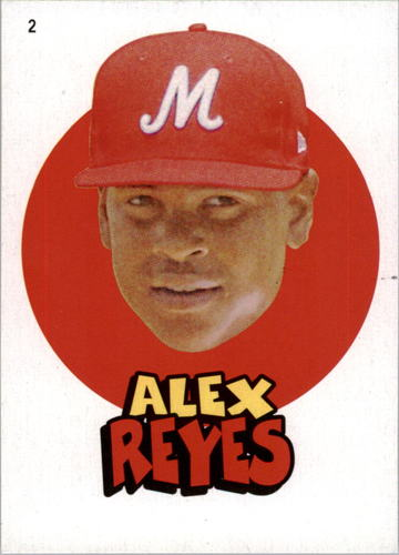 Photo of 2016 Topps Heritage Minors '67 Topps Stickers #2 Alex Reyes