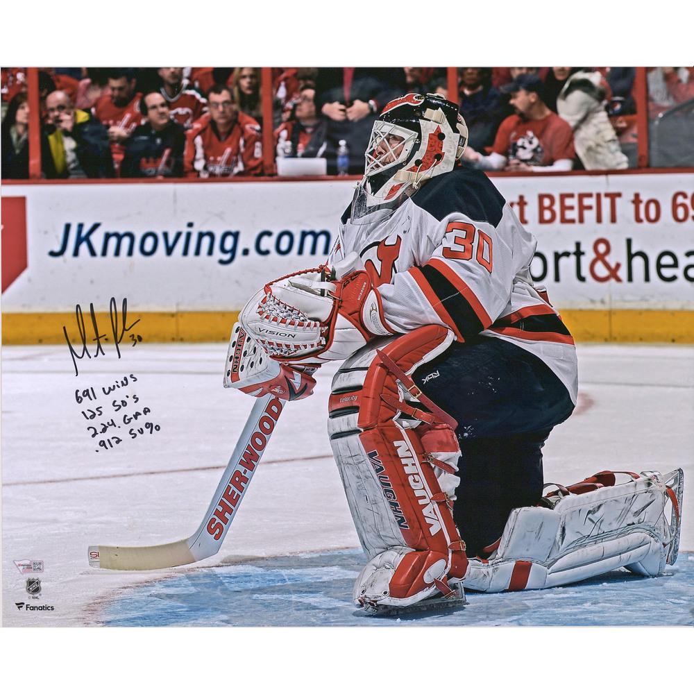 Martin Brodeur New Jersey Devils Autographed 16