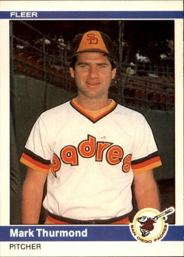 Photo of 1984 Fleer #315 Mark Thurmond