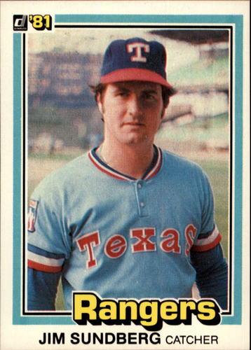 Photo of 1981 Donruss #385 Jim Sundberg
