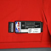 Mario Hezonja - Portland Trail Blazers - Game-Worn Classic Edition 1975-77 Road Jersey - Double-Double - 2019-20 NBA Season