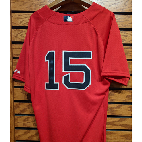 #15 Team Issued Red Home Alternate Jersey