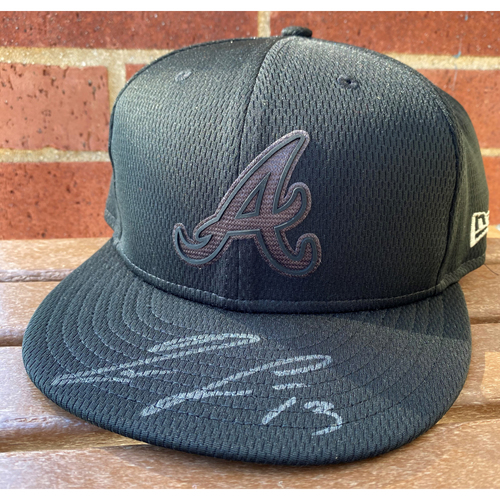 Photo of Ronald Acuna Jr. MLB Authenticated Autographed Players Weekend (7 3/8) Hat