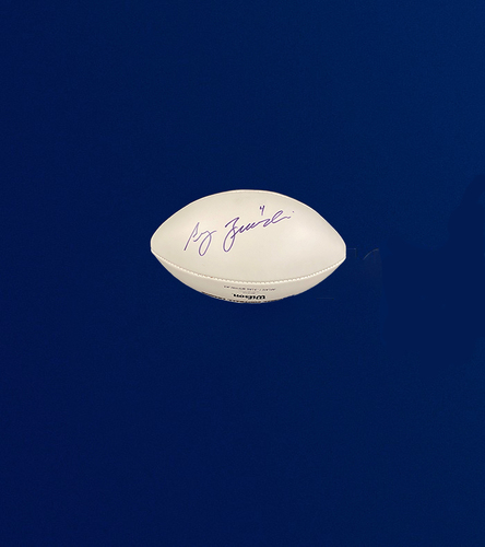 Photo of Greg Zuerleing Signed Panel Football