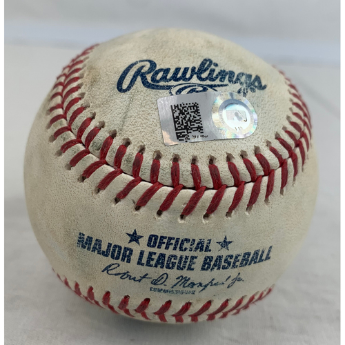 Photo of Zack Greinke Game-Used Baseball - Strikeout of Shoehei Ohtani - 4/23/2021 vs. LAA