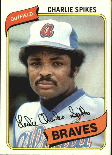 Photo of 1980 Topps #294 Charlie Spikes