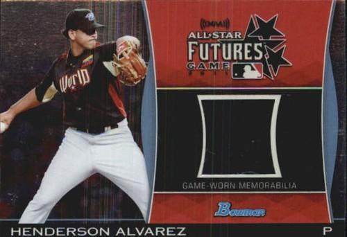 Photo of 2011 Bowman Draft Future's Game Relics #HA Henderson Alvarez