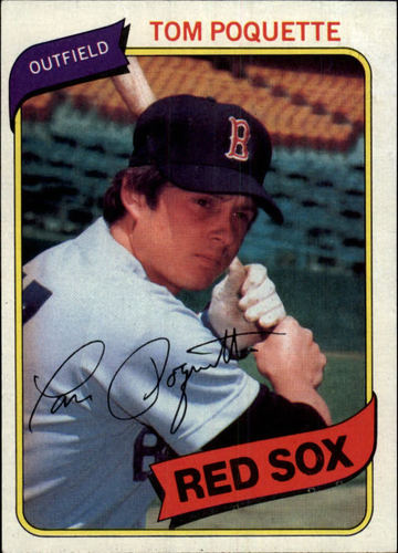 Photo of 1980 Topps #597 Tom Poquette