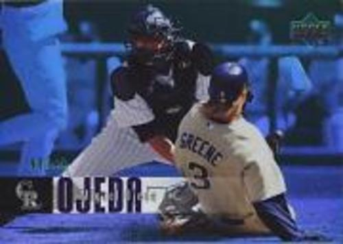 Photo of 2006 Upper Deck Special F/X Green #600 Miguel Ojeda /99
