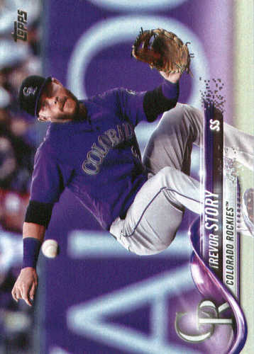 Photo of 2018 Topps #230 Trevor Story