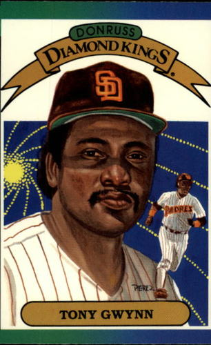 Photo of 1989 Donruss #6 Tony Gwynn DK
