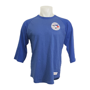 uk availability 54115 4319c Blue Jays Shop | Toronto Blue Jays Patch Raglan 3/4 Sleeve ...