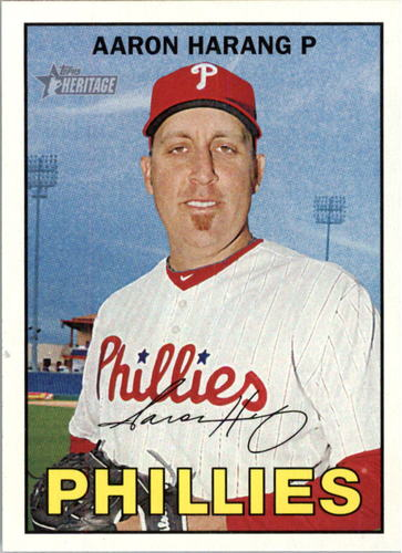 Photo of 2016 Topps Heritage #211 Aaron Harang