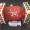 California Fire Relief - Rams Andrew Whitworth signed authentic football