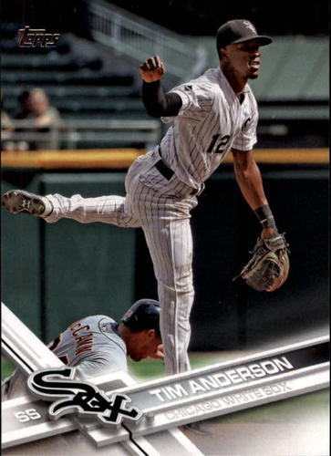 Photo of 2017 Topps #148 Tim Anderson
