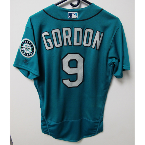 Photo of Seattle Mariners Dee Gordon Game-Used Green Jersey - 7/6/18 vs. COL