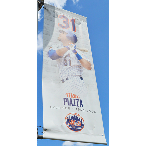Mike Piazza #31 - Citi Field Banner - 2018 Season