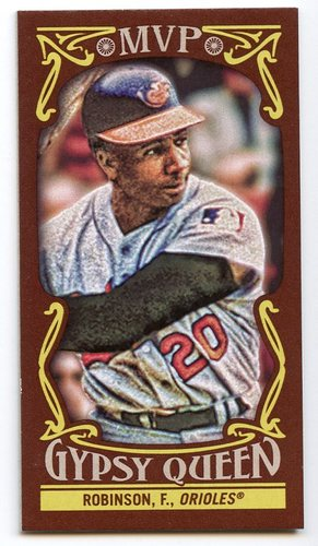 Photo of 2016 Topps Gypsy Queen MVP Minis #MVPMFR Frank Robinson