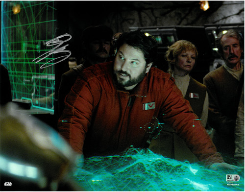 Greg Grunberg As Snap Wexley 11X14 AUTOGRAPHED IN 'Silver' INK PHOTO