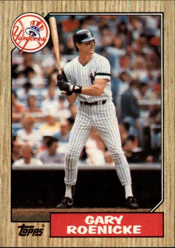 Photo of 1987 Topps #683 Gary Roenicke