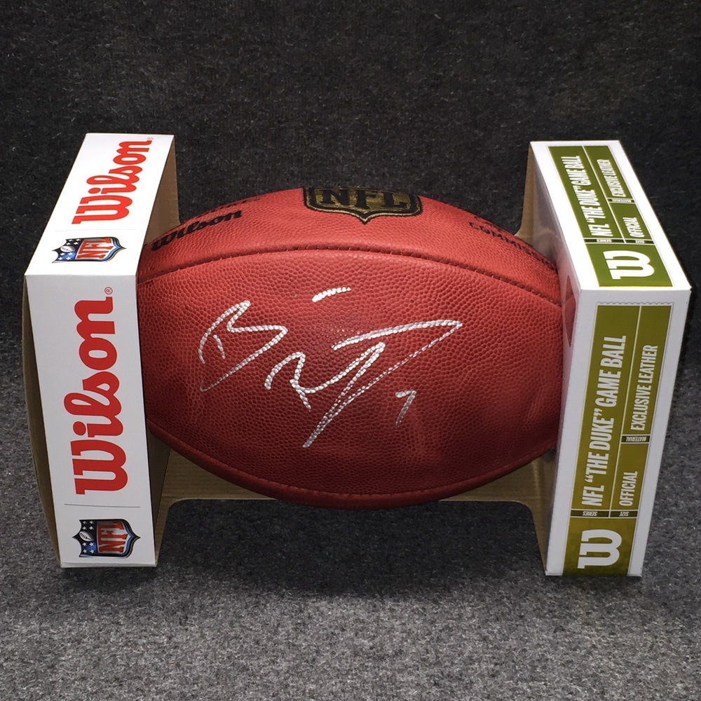 NFL - Steelers Ben Roethlisberger signed authentic football