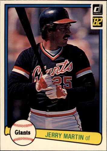 Photo of 1982 Donruss #298 Jerry Martin